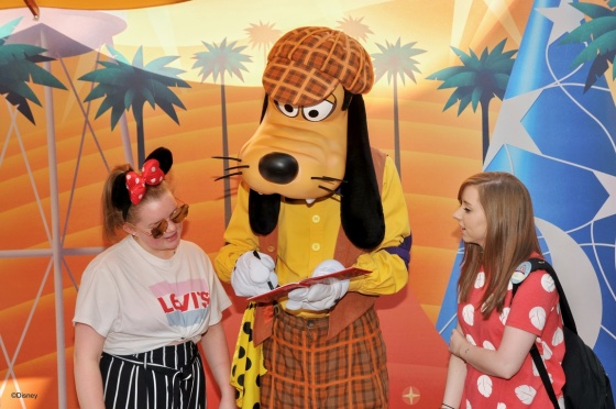 Goofy and me and Katie
