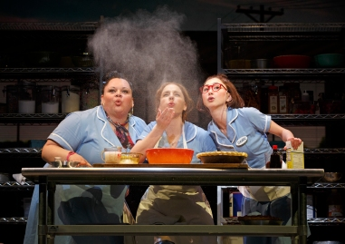 WAITRESS MUSICAL ORIGINAL BROOKS ATKINSON THEATRE 256 W. 47TH ST.